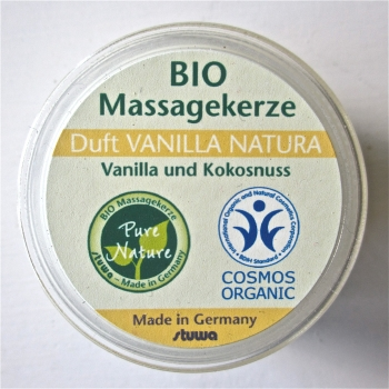 BIO Massagekerze Vanilla Natura 25ml