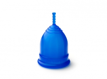 LaliCup - Menstrual Cup, Modell L, Blau