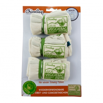 VeggieBag MAXI – 3er Pack Natural