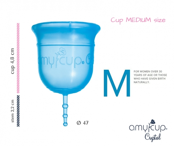 AmyCup® Crystal M