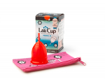 Lali Cup - Menstrual Cup, Modell M, Rot